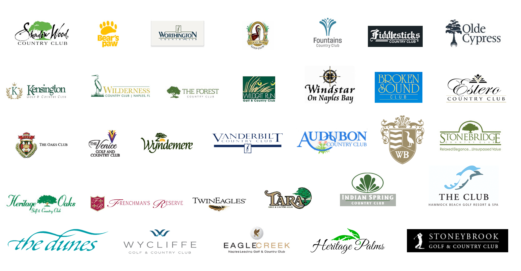 Club Properties Florida Country Club Clients